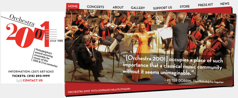 Orchestra2001 news